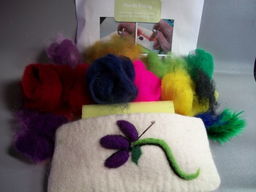 Needle Felted Embellishment Kit